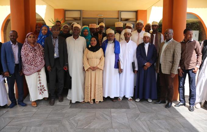 Les participants à la réunion
